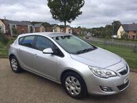 Vauxhall Astra 1.7 CDTi ecoFLEX 16v Exclusiv 5dr 2012 61 reg Diesel Long MOT Good Condition