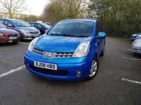 2008 Nissan note 1.4 excellent condition not toyota Renault Peugeot mazda