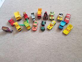 Various vintage cars