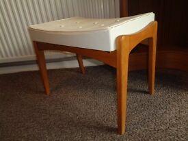 Vintage G Plan Style Teak Stool/Footstool