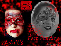 HALLOWEEN Professional Face Painting and Spcial FX Effects! IsMakeup Birmingham and West Midlands