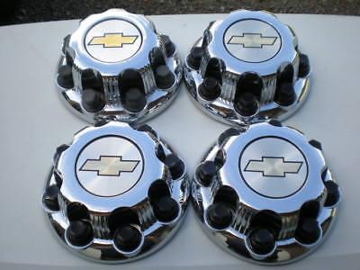 (4) Set 00 - 10 Chevrolet Silverado 2500 3500 Van OEM Center Cap P/N 15052380