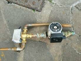 Honeywell diverter valve