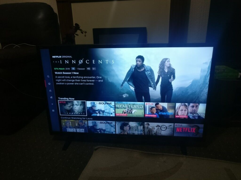 Sharp Aquos 40inch Smart LED TV, Full HD 1080p, WiFi and FreeView builtin |  in Liverpool, Merseyside | Gumtree