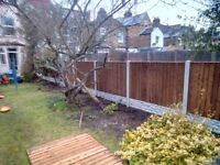 Fencing Supply and Fitting Close Board Fence Panel Turf Decking Patio and Slabs