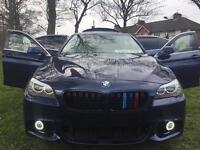 BMW 520D 2012 EFFICIENT DYNAMICSM SPORT REPLICA £30 TAX TOP SPEC £30 TAX EXTRAS MUST VIEW £8995 Ono