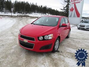 2015 Chevrolet Sonic LT Front Wheel Drive - 40,658 KMs, 1.8L Gas