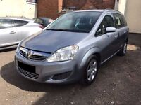 Vauxhall Zafira 1.6 i 16v Exclusiv 5door - 2008, 2 Owners, 12 Months MOT, 82K Miles, Service History