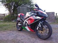 Aprilia rs125 very quick bike