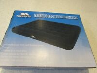 .NEW Trespass Double Flocked Airbed camp bed