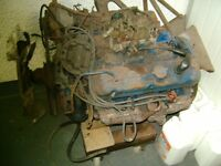 pontiac v8 engine and gear box