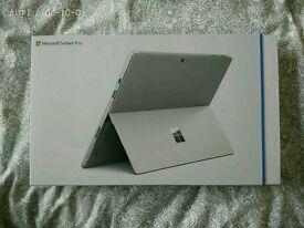 Surface Pro 4 i7+8GB RAM+256GB SSD RRP 1299£