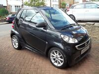 SMART FOR2 PASSION mhd CONVERTIBLE AUTO 1Ltr 10400miles 2013