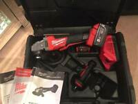 Milwaukee M18 Fuel Grinder Brsnd new