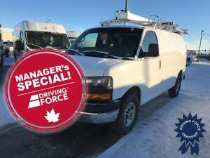"2015 GMC Savana 2500 135"" WB Cargo Van, Custom Shelving"