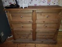 Oak Chest of drawers ***free delivery locally**