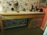 IKEA DRESSING TABLE WITH DRAWER