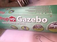 SOLD. Pop up Gazebo - New