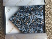 High end silk cravat. Amazing quality. Ideal for the dapper gent.