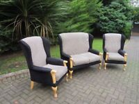 Compact Wingback 2+1+1 Suite