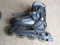 Adjustable Inline Skates - Stateside Bronx Size - 4-7 UK