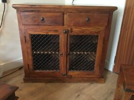 Solid Indian wood unit