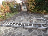 For Sale Set of Double extension ladders