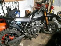 Keeway 125 4 stroke field bike