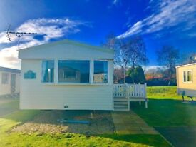 Static caravan for private sale at Tattershall Lakes Country Park near Skegness beach Butlins Lincs