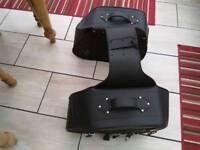 Motorbike saddle bag