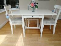 White Dining Table (not including chairs)