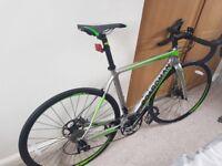 Boardman Pro Carbon Road Bike (51 cm) Silver & Green - Hardly Used!