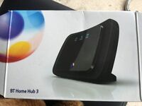 Bt home hub used bargain collect from clipstone in Mansfield £5 !!!