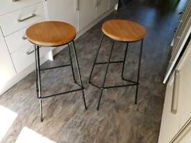 Kitchen Bar Stools £35.00 for the pair