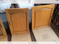 Kitchen cupboard doors - good used condition