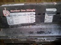 IKO Armourglass shingles / roof tiles | Square black - 8 Packs of 21 - 3m²