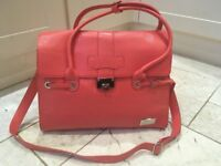 Luxury Designer Baby Changing Bag - Nova Harley - Coral - with accessories