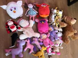 19 piece plush toy