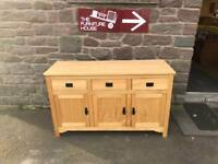 James Barclay of Perth solid oak sideboard * free furniture delivery *