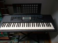 yamaha keyboard plus stand