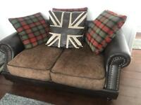 Two and three seater sofas