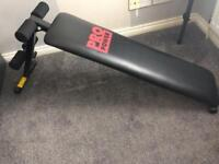 Pro power ab bench