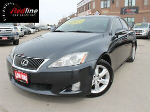 2010 Lexus IS 250 RWD Accident Free-Bluetooth-Paddle Shift