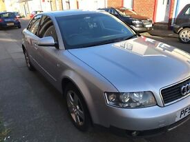 Audi A4 SE Saloon 1.9 TDI 2002 (131 bhp) Full Black Leather 6 Months MOT