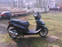 125cc daelim scooter £750 o-n-o