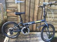 Fold away bike ideal to put in the boot of car