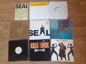 """7 x seal original issue vinyl LP / 12"""""""