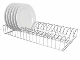 Plate Racks Stainless Steel 915mm Length