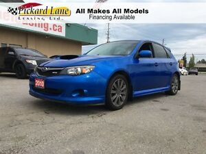 2010 Subaru Impreza WRX RALLY BLUE! WRX! TURBO! HATCHBACK!