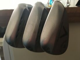 Callaway Mack Daddy Forged Wedge50,54,58s
